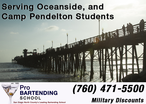 bartending classes in oceanside military discounts