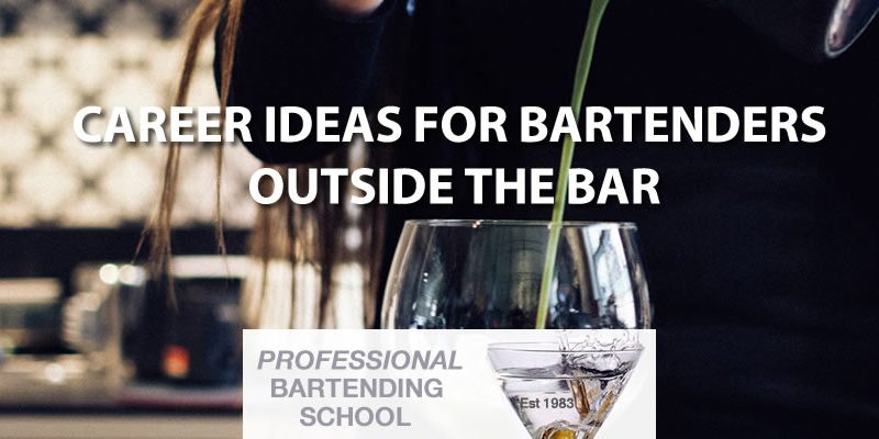 bartending jobs career ideas for bartenders