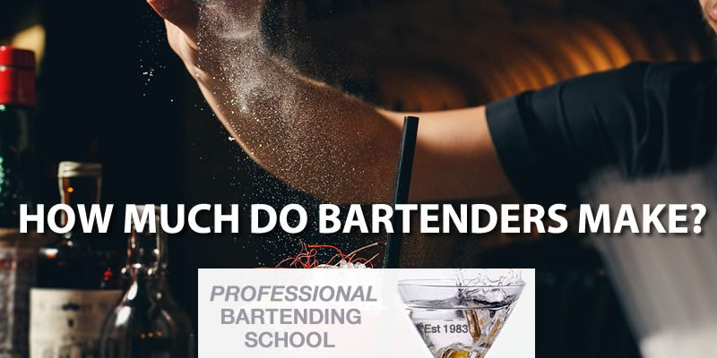 how much money bartender make careers bartending